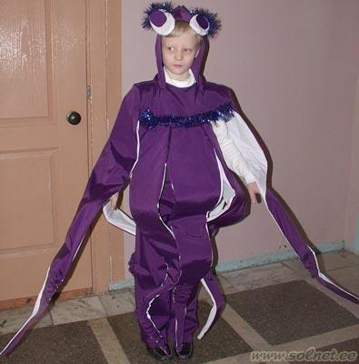 Карнавальный костюм осминог