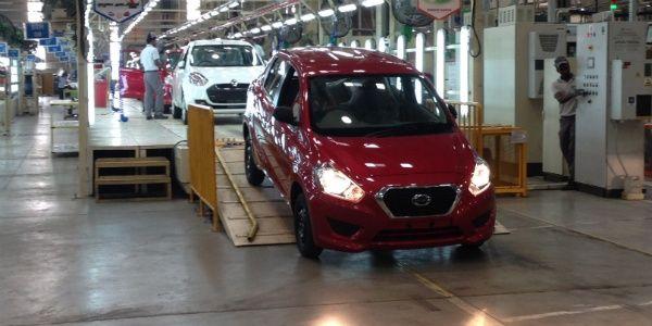 2014 Indian Auto Expo: Datsun Go production commences