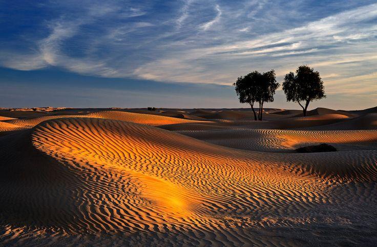 Pusté končiny pouště Rub al-Chálí