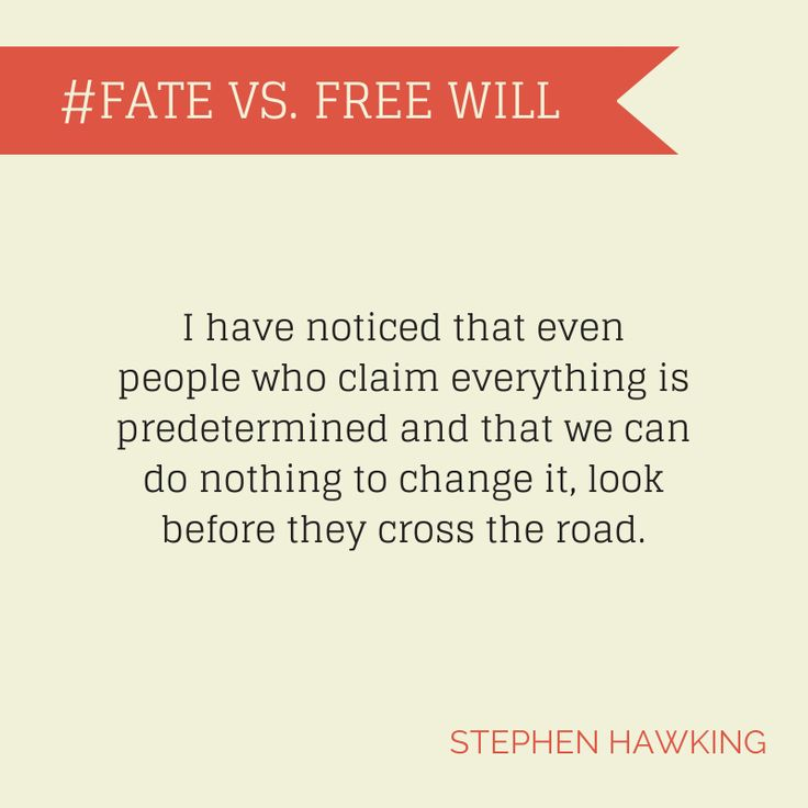 macbeth fate vs freewill Commentator marcelo gleiser gives it some thought and decides he's not buying that argument  the choice is yours: the fate of free will.