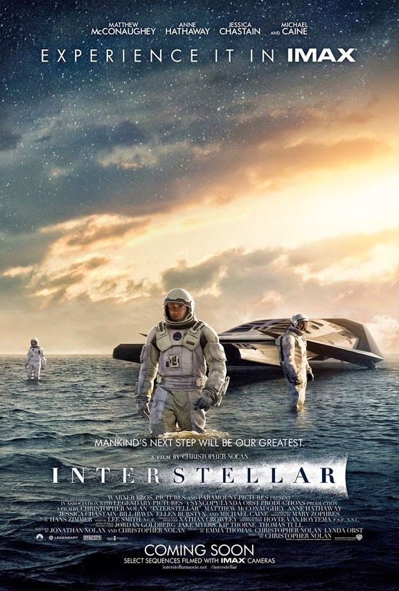 Alex J. Cavanaugh: Movie Posters from Interstellar, Night at the Muse...