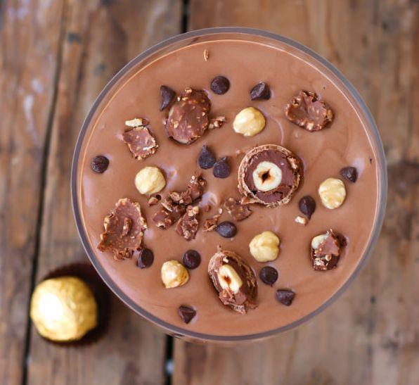 θες γλυκο και το θες στα γρήγορα?Η πιο απολαυστική μους nutella με δυο υλικά!