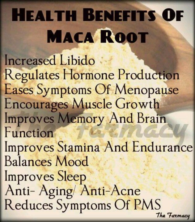 Maca Root. I Take It Every Day For Energy And For