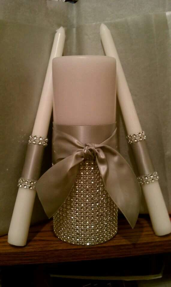 ** Add Sparkle To Candles Using Rhinestones On A Roll @shipshop