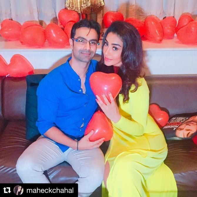 Maheck Chahal and Ashmit Patel