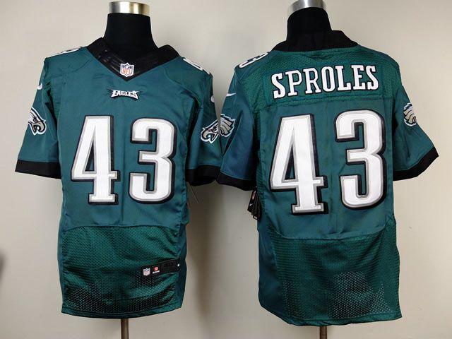 7046b6c375b ... nfl jerseys wholesale Nike Eagles Darren Sproles Midnight Green Team  Color Mens Stitched NFL New Elite Womens Nike Philadelphia ...