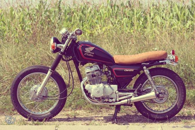 honda 125 cm motos paris only 125 ccm. Black Bedroom Furniture Sets. Home Design Ideas