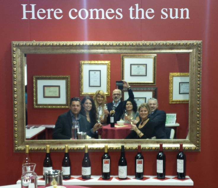 Vinitaly 2015. Our stand, our friends.