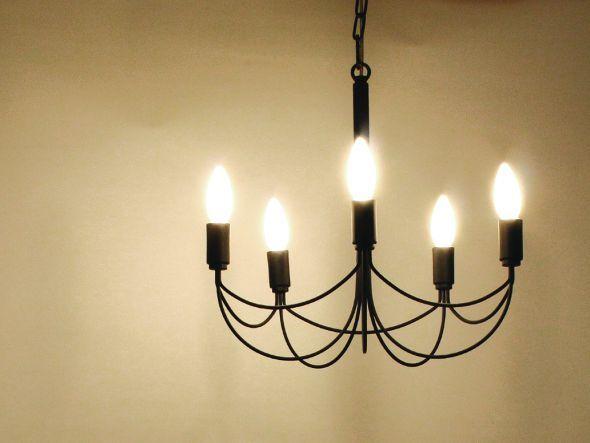 FLYMEe Blanc Arco small chandelier / フライミーブラン アルコスモール シャンデリア(ブラック)_1