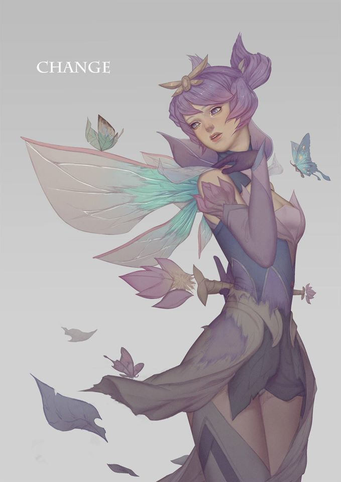 Xayah Character Design : Best lux elementalista images on pinterest league
