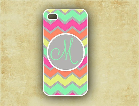 want this so bad!!! Monogram Iphone 5 case, Iphone 4 case - Pastel ...