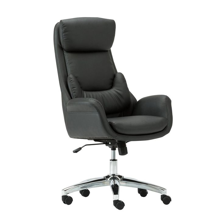 Techni Mobili Best Ergonomic Home Office Chair With Lumbar Support In Black Or Cream