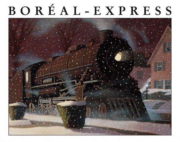 La nuit de Noël, des centaines d'enfants en pyjama ou en chemise de nuit partent pour le pôle Nord à bord du Boréal Express, un train à vapeur qui les emmène au pays du Père Noël.
