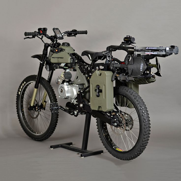 Is the Motopeds Black Ops Survival Edition the coolest 49cc moped ever made?