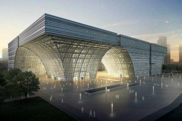 Громадный Культурный Центр Построят в Чанчжоу