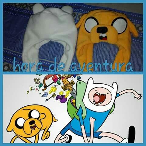 Cosplay finn y jake gorro. Adventure time