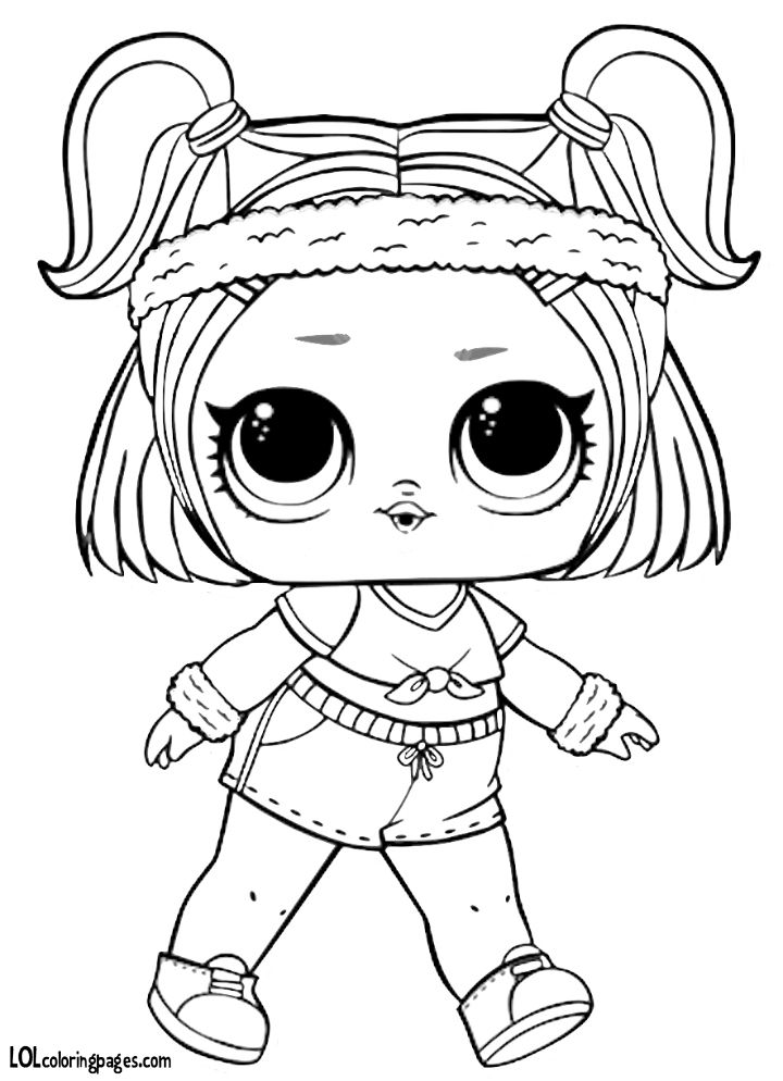 Pin by Shary Mendez on coloring pages for kids Lol dolls