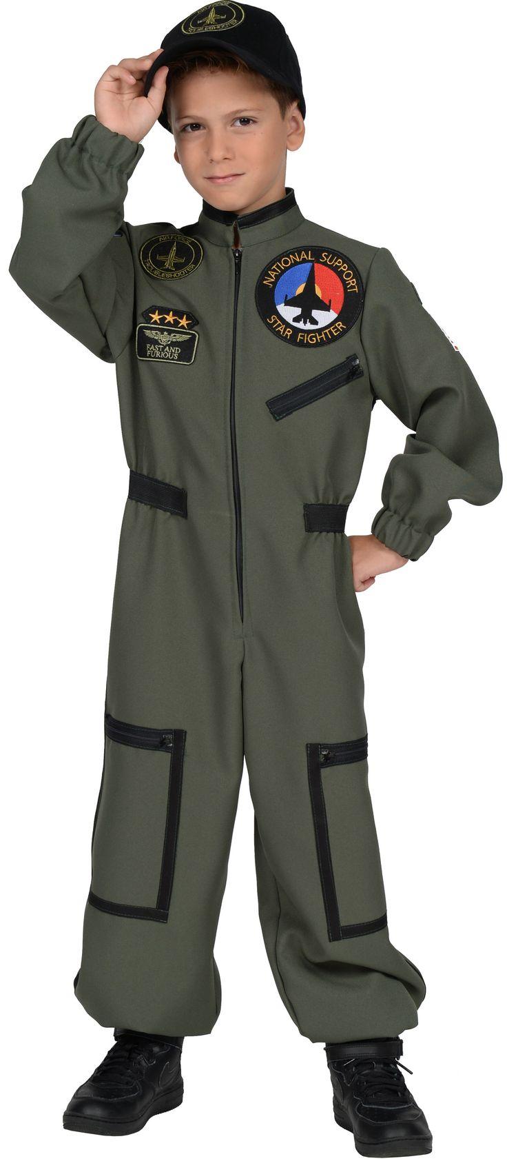 Karnevalswierts.com - Kostüme -  - Jet-Pilot