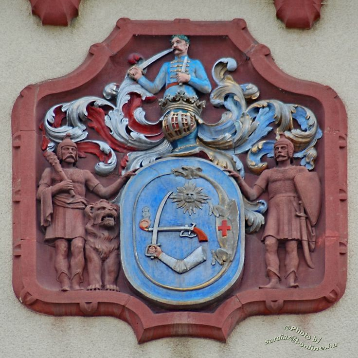 Crest in the County Hall - Debrecen