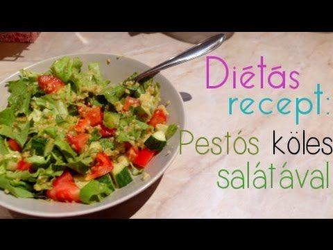 Diétás recept: Pestós köles salátával