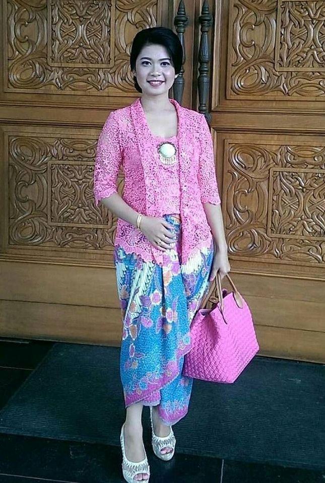 Model Kebaya Kutu Baru Brokat Modern Terbaru Indonesian Fashion Di