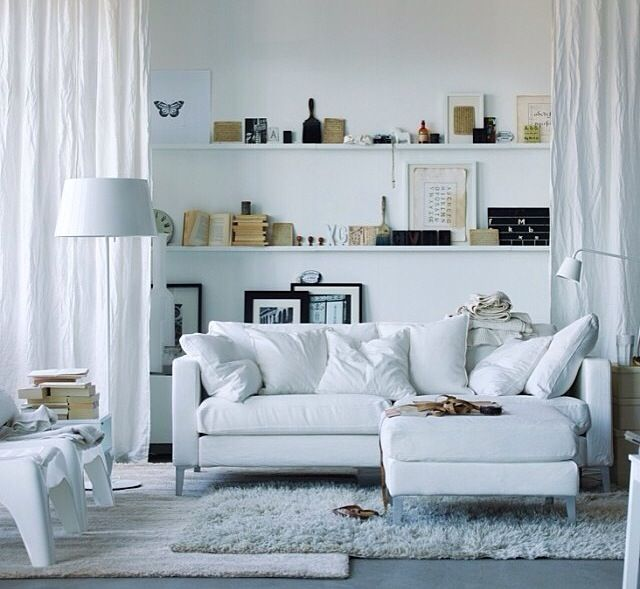 White living space