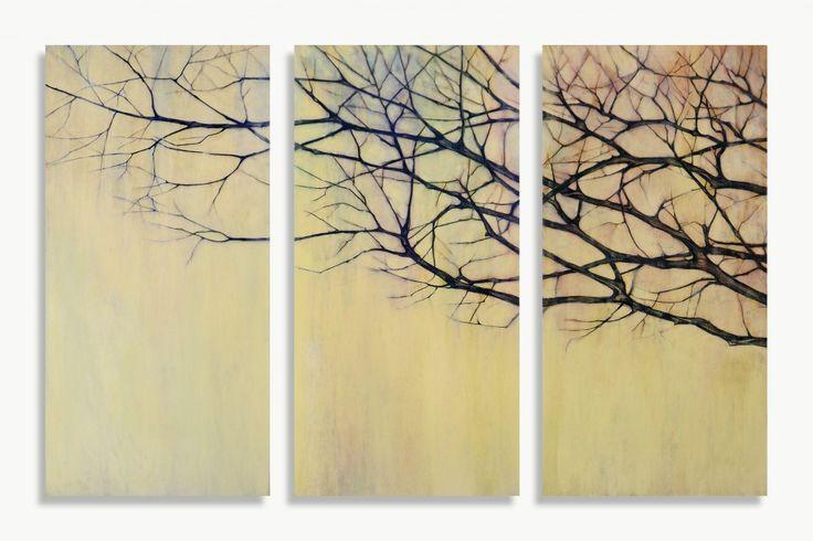 """""""Il passaggio"""" Oil on wood - 100x150 cm"""