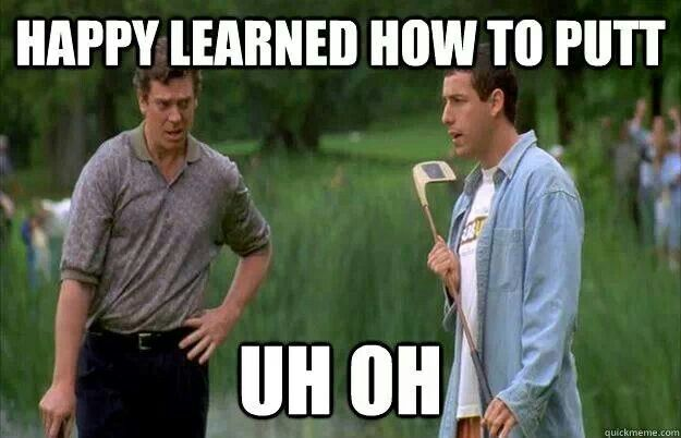 Happy learned.. ~ Happy Gilmore (1996) ~ Movie Quotes #amusementphile
