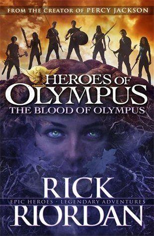 Blood of olympus book series