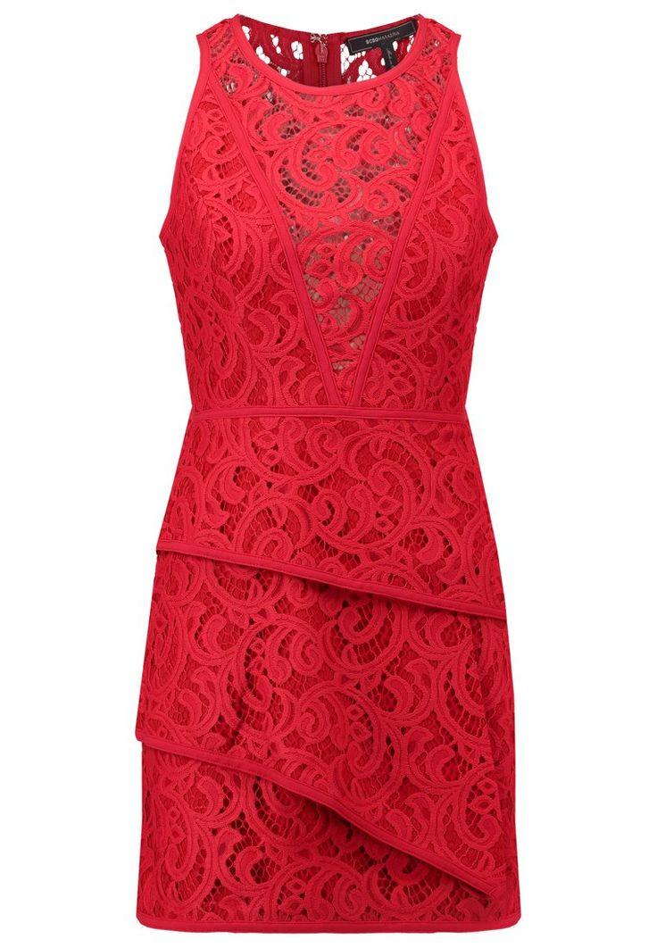 #BCBGMAXAZRIA Sukienka koktajlowa - burnt red <3  #vumag #red #dress #mini #love