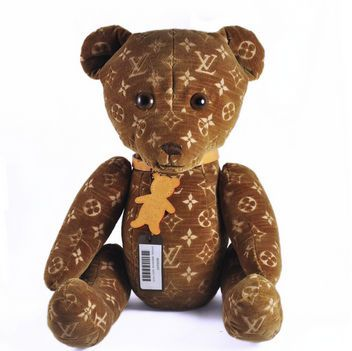 Who wouldn't want a Louis Vuitton teddy bear?