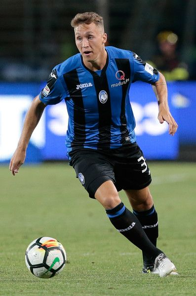 Nicolas Haas of Atalanta BC in action during the pre-season friendly match between Atalanta BC and LOSC Lille at Stadio Atleti Azzurri d'Italia on July 26, 2017 in Bergamo, Italy.