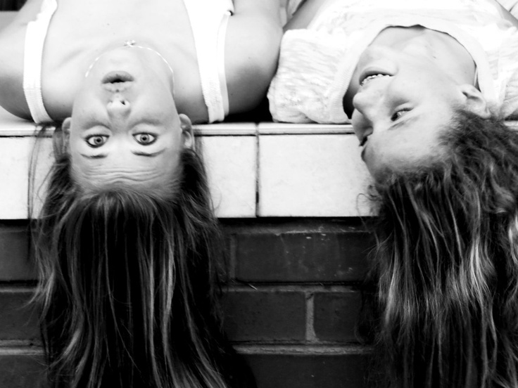 friends laughing photography wow and cool hair and black and white