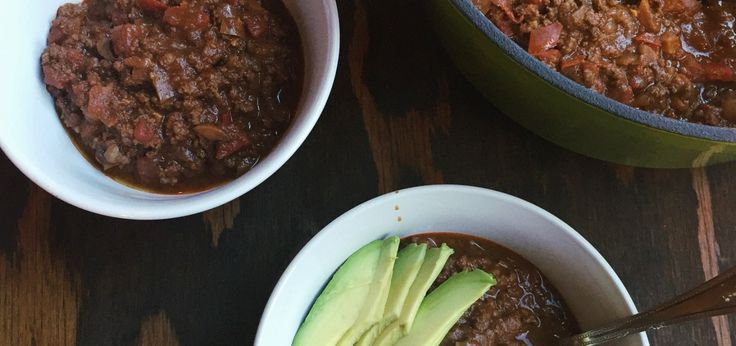 Cocoa Beef Chili | Paleo, Gluten Free, Low Carb by Strive to Thrive Nutrition