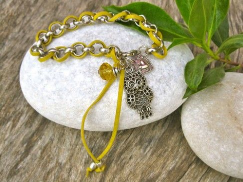 Owl jewellery gift necklace