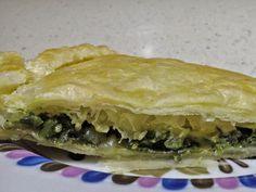 Ricetta originale della Spanakopita Greca. Pita farcita con spinaci, dal sapore intenso e gustoso. Ricetta consigliata anche a Vegani e Vegetariani.