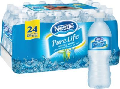 Staples®. has the Nestle® Pure Life® Bottled Purified Water, 16.9 oz. Bottles, 24/Case you need for home office or business. FREE Shipping on all orders over $45, plus Rewards Members get 5 percent back on everything!