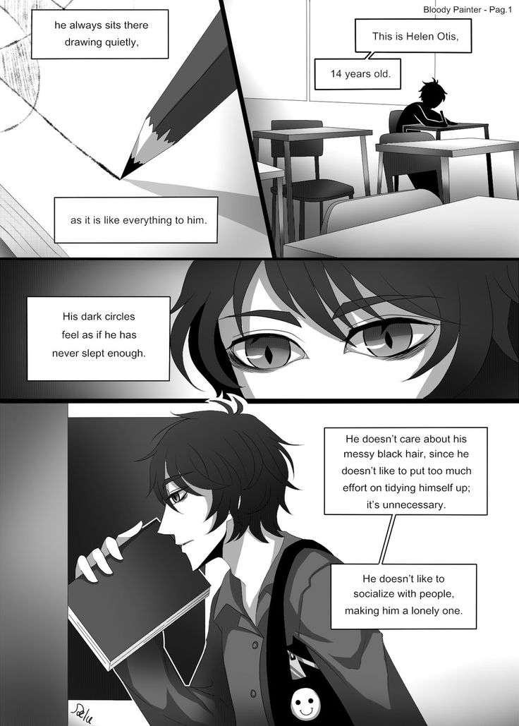 Bloody Painter story Comic-Pag.1