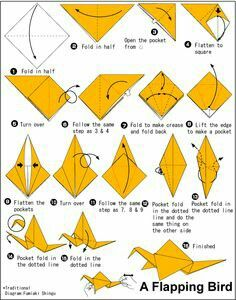 Want to make something like a crane but make its wings move?