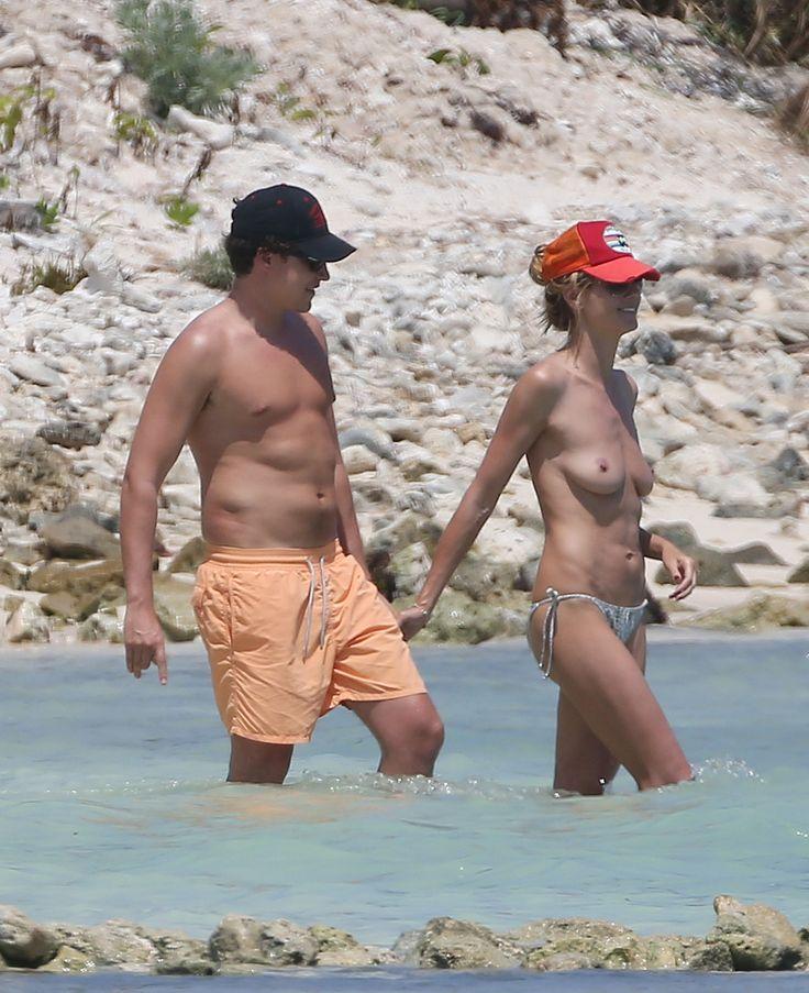 Heidi Klum Model Topless In Mexico April 2014 Part 2 -2527
