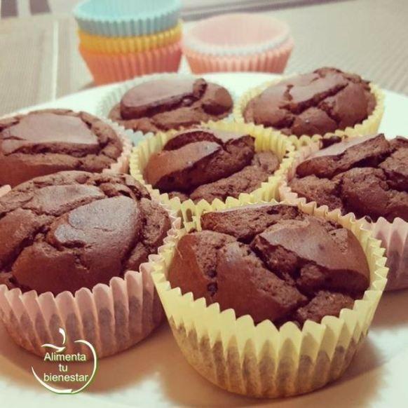 Muffins Sin Gluten Con Harina De Garbanzos Y Cacao Un Dulce Saludable Harina De Garbanzo Dulces Saludables Galletas De Garbanzo