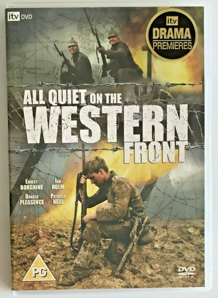 All Quiet On The Western Front Dvd 2003 Itv Television War