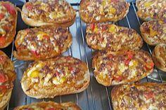 Pizza - Hackfleisch - Brötchen 5