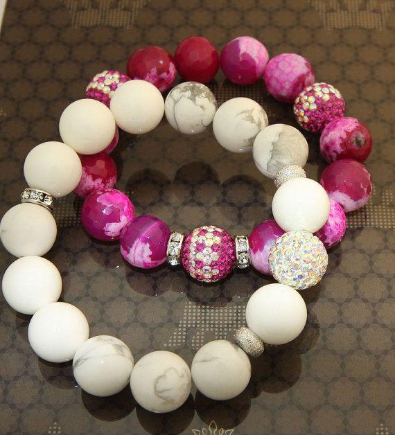My Valentine  Gemstone Statement  Fashion by JamiesQuilting, $15.00