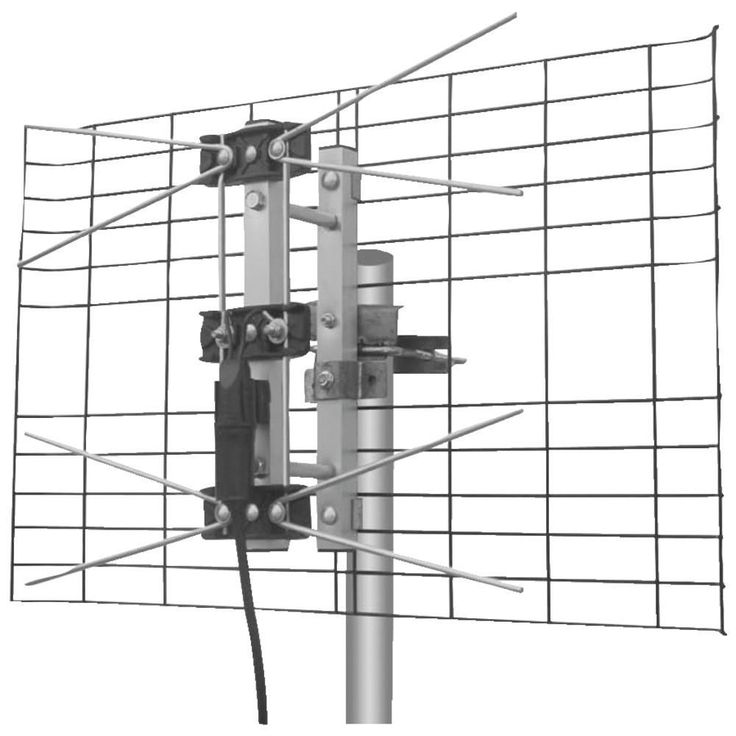Eagle Aspen Directv-approved 2-bay Uhf Outdoor Antenna