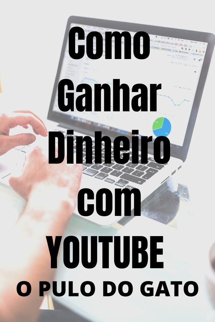 Como ganhar dinheiro com o youtube. Clique neste Pin e saiba como Ganhar Dinheiro com o Youtube Sem Aparecer. #youtube #…