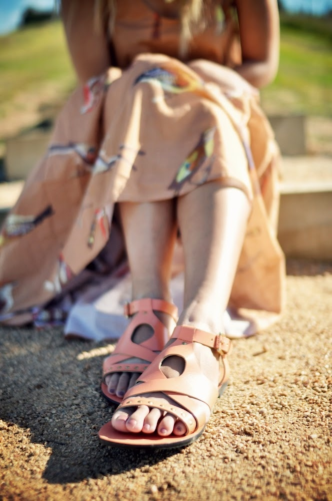 Carla leather sandals