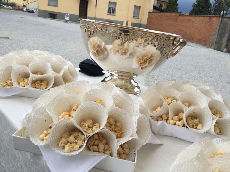 Welcome drink  Limonata e Pop-corn caramellati Matrimonio