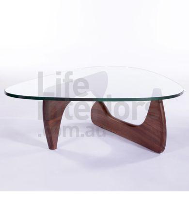 Replica Isamu Noguchi Style Coffee Table - Walnut