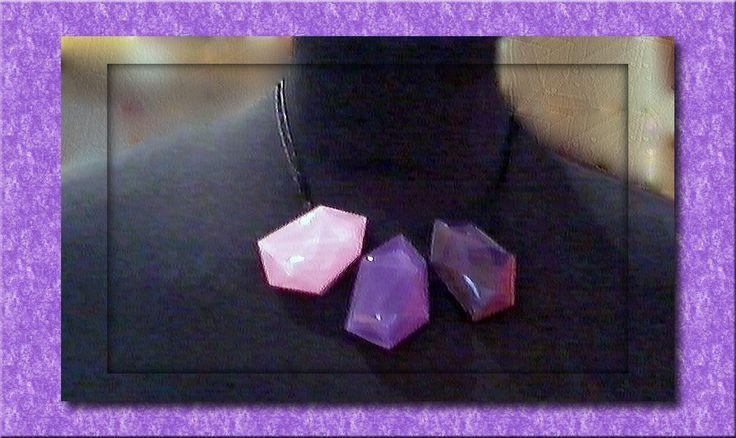 hand made bijou ZSISKA collana Magical ispirata alle sfaccettature del taglio delle gemme